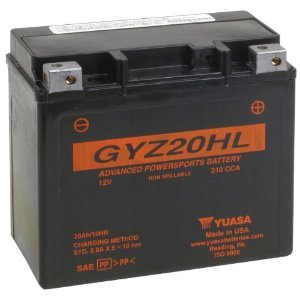 Yuasa GYZ20HL Performance Battery