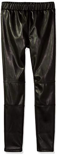 Splendid Little Girls' SA Faux Leather Legging, Black, 5/6 by Splendid
