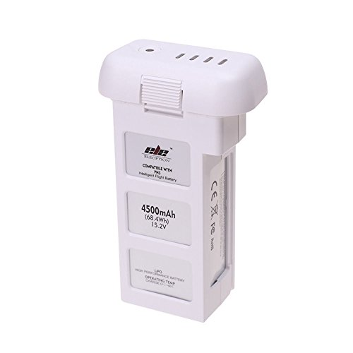 Premium Quality Intelligent Flight Battery DJI Phantom 3 Drone High Capacity 4500 mAh 15.2 V (4 cells 4S)- 24 Minute Flying Time - For the Phantom 3 Professional and Phantom 3 Advance Quadrocopter