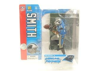 (McFarlane Toys NFL Carolina Panthers Sports Picks Series 14 Steve Smith Action Figure [Blue Jersey Variant])