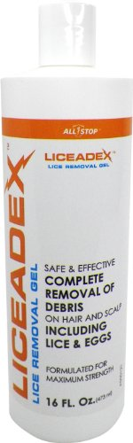 Liceadex Lice & Nit Home Removal - Non-Toxic Lice Treatment Gel - - Head Permethrin Lice