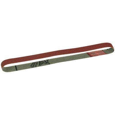 """13"""" x 13/32"""" 180 Grit Replacement Sanding Belts 5 Count - Proxxon 28581"""