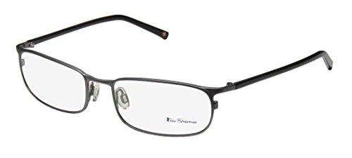 Ben Sherman Shanklin Bs024 Mens Designer Full-rim Eyeglasses/Eye Glasses (54-17-135, Gray / - Glasses Sherman Ben