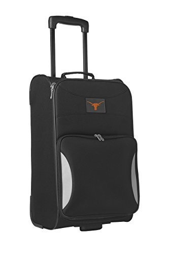 Denco Sports Luggage NCAA University of Texas 21'' Black Steadfast Upright by Denco Sports Luggage by Denco Sports Luggage