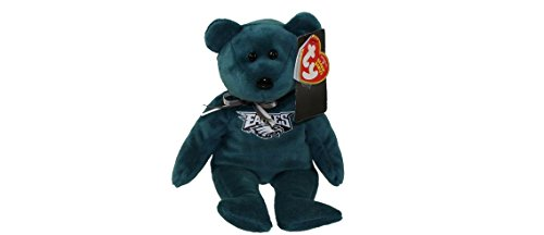 NFL Philadelphia Eagles TY Beanie Baby Teddy Bear Plush 8.5