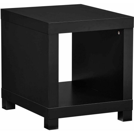 Better Homes and Gardens Accent Table, Set of 2, Solid Black from Better Homes and Gardens
