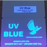 Zebra Ultraviolet (UV) Blue Specialty Ribbon, 1000 prints - P330i, P420i, P430i, P520i