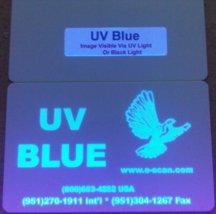 Zebra Ultraviolet (UV) Blue Specialty Ribbon, 1000 Prints - P330i, P420i, P430i, P520i