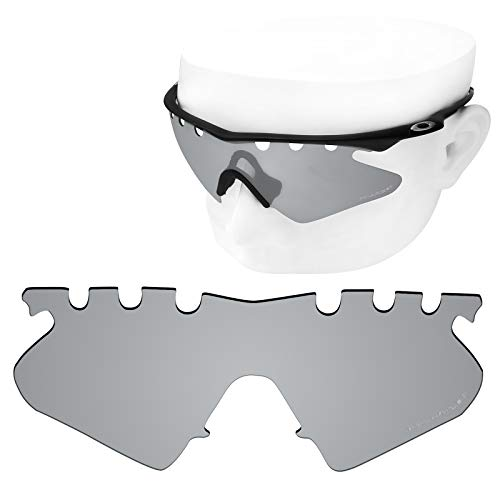 OOWLIT Replacement Lenses Compatible with Oakley M Frame Heater Vented Sunglass Titanium Polycarbonate Combine8 Polarized