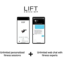 LIFT session - App-based Workouts and Live Chat with the Best Trainers in the World [Online Code]