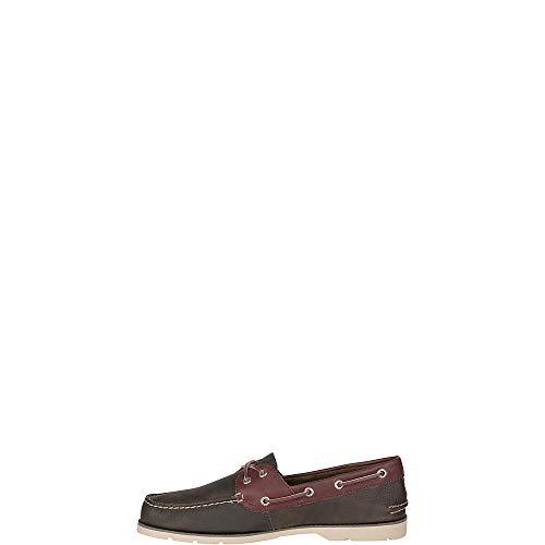 Sperry Men's Leeward 2-Eye Cross Lace Leather Boat Shoe