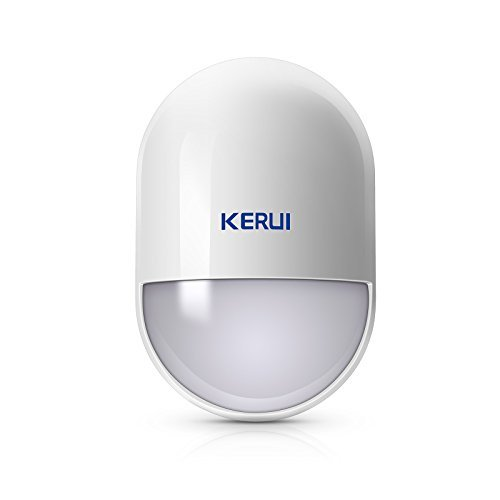 KERUI Wireless PIR Motion Detector Indoor Suitable for Home Security Alarm System,P829