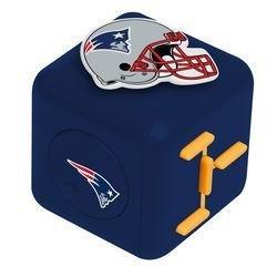 NFL New England Patriots Diztracto Cubez Toy, Size 3, Blue