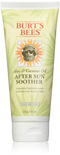 Burt's Bees Aloe & Coconut Oil After Sun Soother 6 oz (Pack of 3)