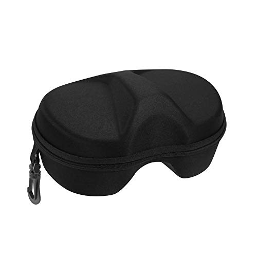 (Diving Mask Case, Portable Swimming Scuba Glasses Protector Container Box Pouch Protective Bag (Black))