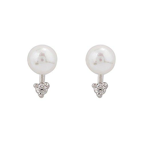 Sarah Earrings earings Dangler Eardrop Unique Shell Sterling Silver Fashion Women Winter Influx Mini Exquisite Small (Sarah Silver Chandelier)