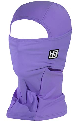 BLACKSTRAP Hood Balaclava Face Mask, Dual Layer Cold Weather Headwear for Men and Women, Pastel Purple