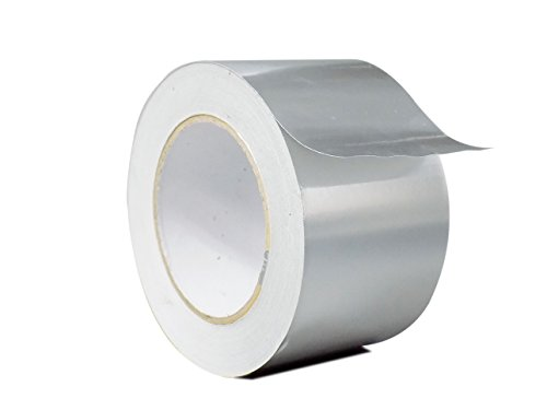 WOD HXT HEXAYURT Tape Aluminum Foil Tape Premium Grade General Purpose Heat Shield Resistant - Good for HVAC, Air Ducts, Insulation (Available in Multiple Packs): 3 in. Wide x 50 yds. by WOD Tape (Image #6)