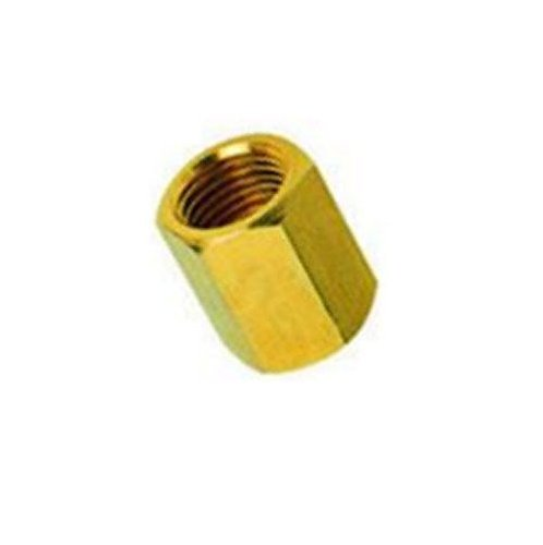 1/4' to 1/4' Coupling Brass Pipe Fitting NPT Adapter Female Thread Oil Fuel (2 Units) Dynapex