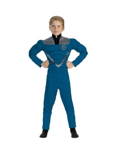 Mr Fantastic Muscle 4 To 6 Costume Item - Disguise