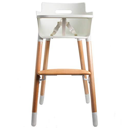 Wooden High Chair for Toddlers and Babies Modern Feeding Highchair Solution with Tray