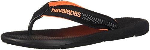 Havaianas Mens Pro Pro Sandale Noir Noir / Noir
