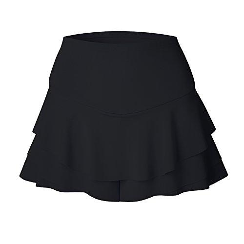 Frills Fashion Rafago Shorts Skirt Black 5qO44xawz