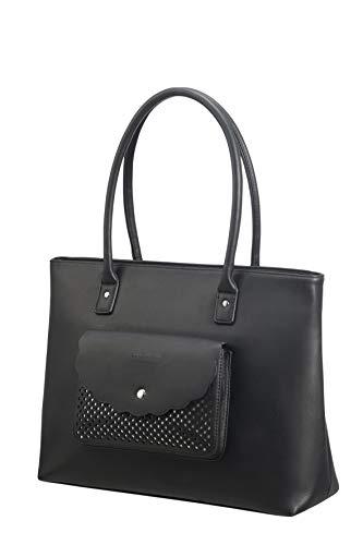 American Tourister Briefcase, black/silver (Black) - 120351/1077 ()