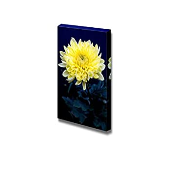 Professional Creation, Lovely Piece of Art, Close Up of Yellow Chrysanthemum Wall Decor