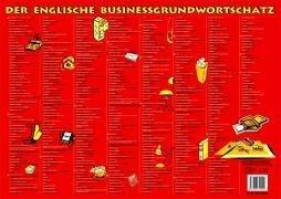 Business Wortschatz Englisch - Schreibtischunterlage: Grundwortschatz
