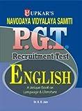 Navodaya Vidyalaya Samiti P.G.T. Recruitment Test English