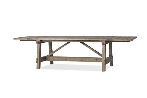 Flamant Dijon Rectangular Extension Dining Table, Antique Pi