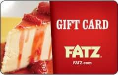 Fatz Restaurant Gift Card