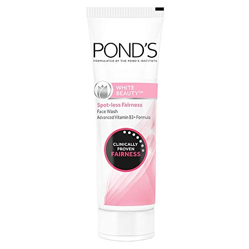 Ponds White Beauty Lightening Facial Foam Daily Spot-Less, 100g by Ponds