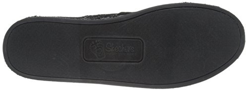 Bobs Van Skechers Dames Chill Slip-on Plat Zwart / Zwart