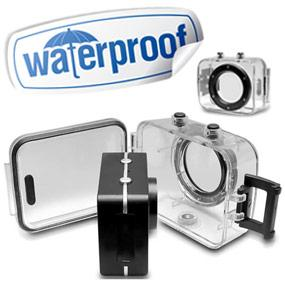 IPX8 Waterproof Case Rating for Depths up to 3 Meters