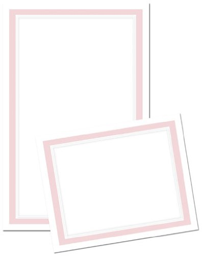 der Invitation and Response Card Kit - Pink ()