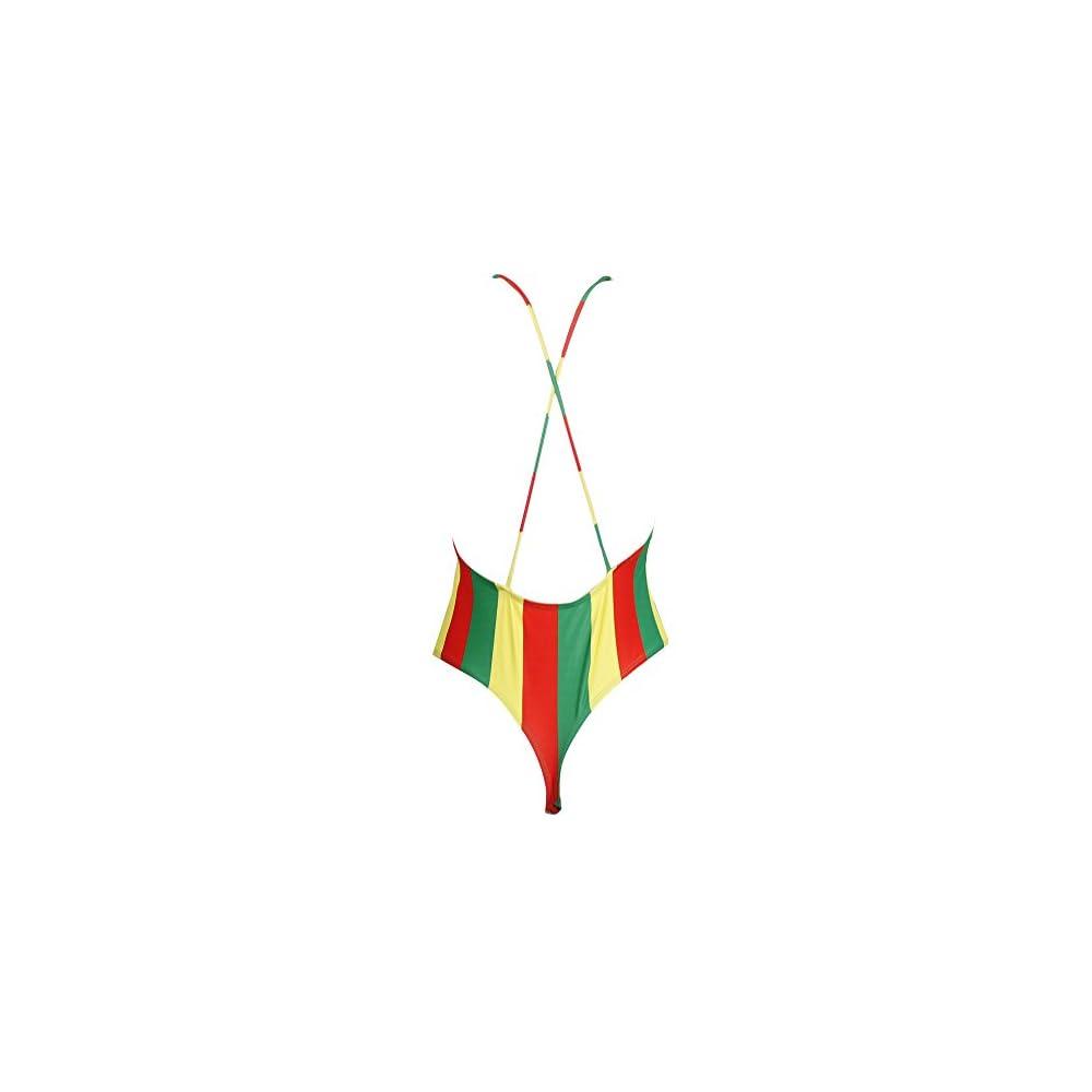 ac140959edd Jamaican Clothing for Women's Fashion One Piece Africa Rasta Monokini  Swimsuit Swimwear