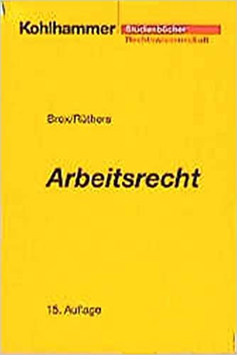Arbeitsrecht Studienbücher Rechtswissenschaft Amazonde Hans