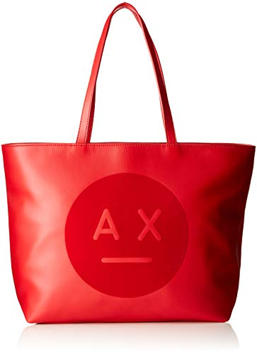 Bloody Exchange Women's Tote Face Logo Red Mary Armani Tote Bag Ax PpwqpOz