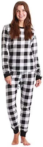 Just Love Women's Thermal Underwear Pajamas Set