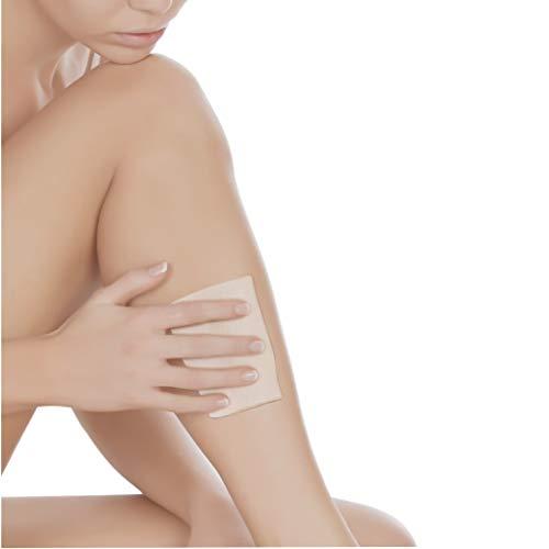 Placa Skin com Tecido, Ortho Pauher, Nude, 20 x 20 cm