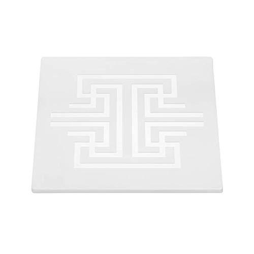 (OKSLO Rosseto sg039 14 in. square white melamine dual surface)