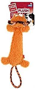 Gigwi Plush Friends Durable Lion Squeaker Dog Toy