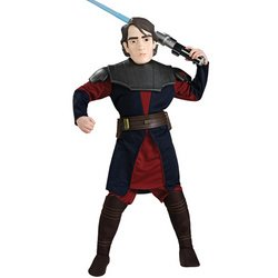 Anakin Skywalker Deluxe Costume: Boy's Size 12-14]()
