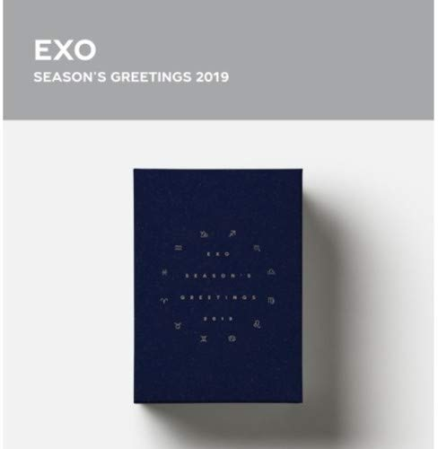 DVD : Season's Greeting 2019 (Calendar, Stickers, Poster, Asia - Import, NTSC Region 0)