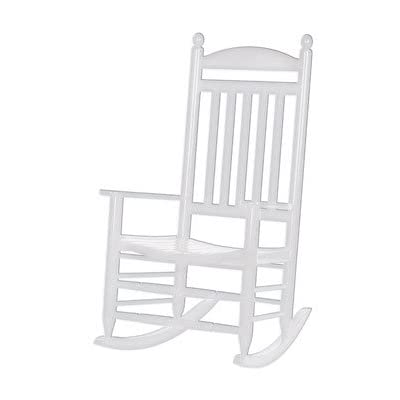 Bradley White Slat Patio Rocking Chair 200sw Rta Holiday Gifts