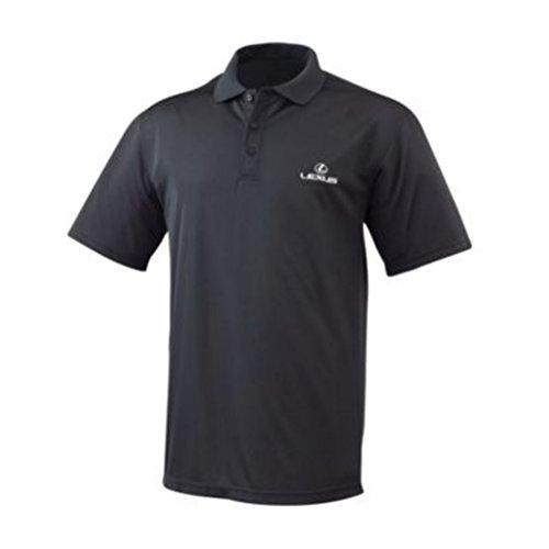 Genuine Lexus Men's Ice Polo Shirt - Black -Size Medium