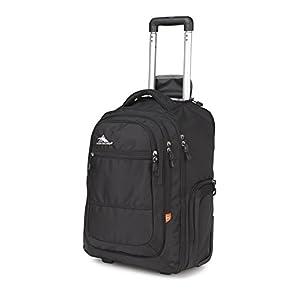 High Sierra 58420-1041 Rev Wheeled Backpack, Black