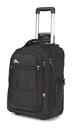 High Sierra 58420-1041 Rev Wheeled Backpack, Black
